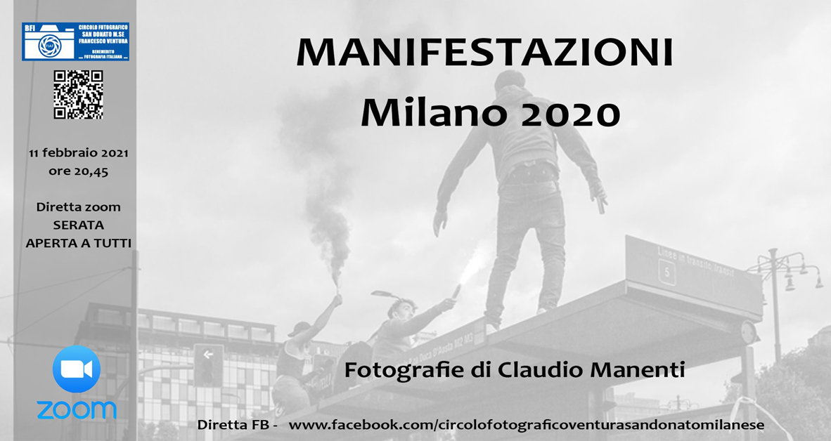 Serata del Socio – Claudio Manenti