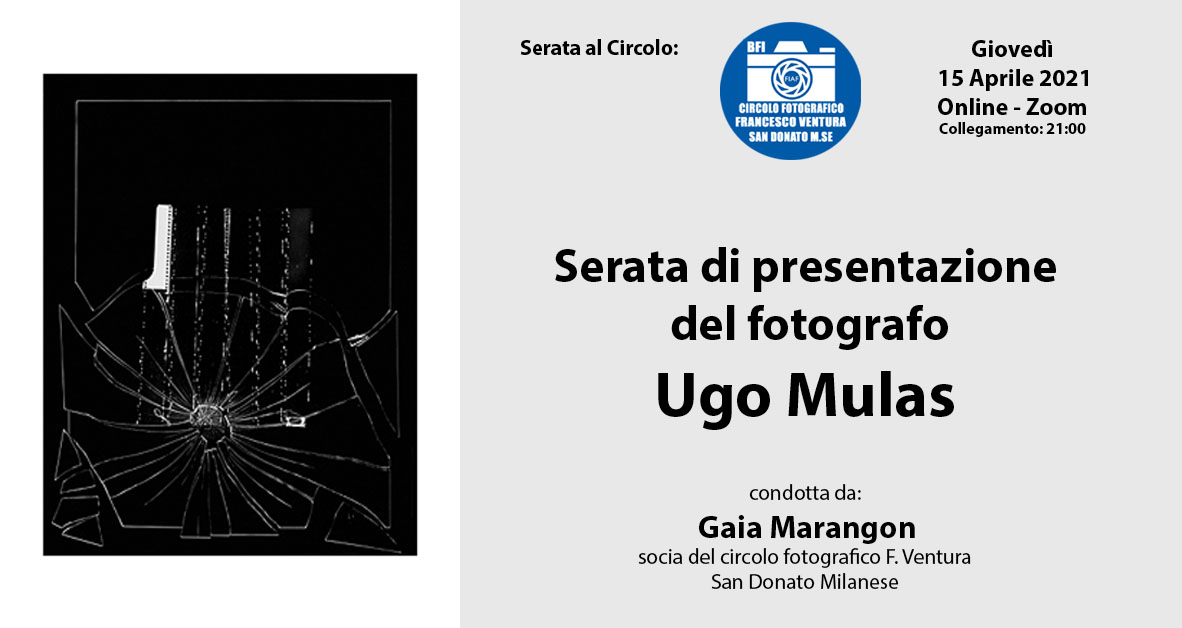 Serata di presentazione del fotografo UGO MULAS